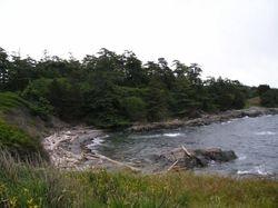 Discovery Island - Rudlin Bay.