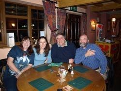 Mel, Jean, Glynn, Clive