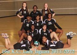 2012 KC Lady Jags 16U