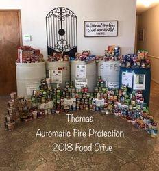 2018 South Plains Food Drive