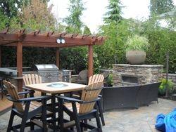 Executive poolside garden patio Pitt Meadows