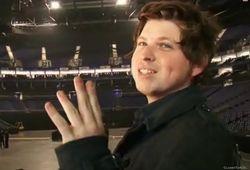 Rehearsals, O2 Arena, London (11 Dec 08)