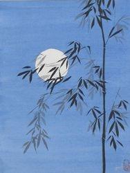 Bamboo Under Moonlight   B