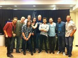 Backstage, BOK Center, Tulsa (08 Apr 11)