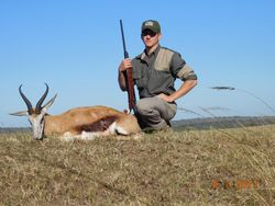 Jake and his Springbuck