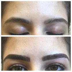 Eyebrow Tattoo - Combo (feathering & powder wash)