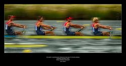 GB Men's Lightweight Four on the way to Silver Medal London Olympic 2012 Eton Dorney-England