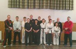 Kempo Knife Master Class with Sensei Alan Mitchell - Halkirk November 2012