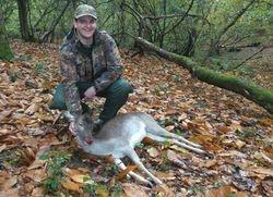 Andrews First Deer