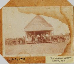 ML Stocking Store early 1900