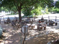 The Patio at the Grapevine Winery