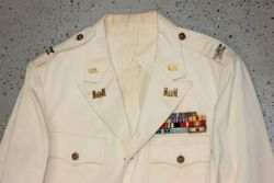 Army Dress White, Engineer