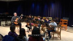 NMS Guitar Quartet, December 2015.