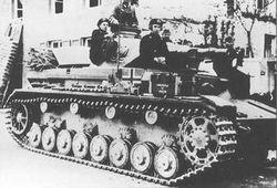 Early Panzerkampfwagen IV Tank: