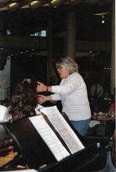 Alicia conducting