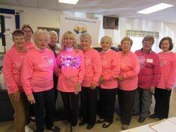 Making Strides Against Cancer ladies: