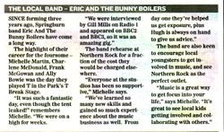 LOCAL - ERIC AND THE BUNNY BOILERS:
