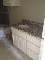 granite throughout