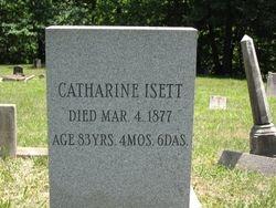 Catharine (Cunningham) Isett (1793-1877)
