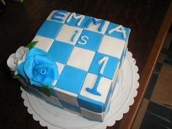 Checkered Cake (B121)