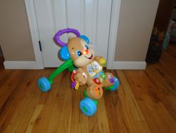 Fisher Price Laugh & Learn Smart Stages Learn with Puppy Walker - $10