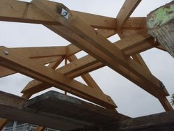 gazebo roof bracing