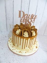Daisy's 18th Birthday Lotus Biscoff Cake