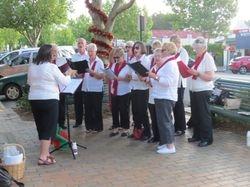 Whittlesea Township Choir in full song