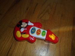 Disney Mickey Mouse My First Guitar, 7 Inches - $5