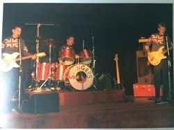 The Swingers in Christchurch 1980