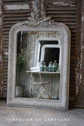 #20/166 Gray Napoleon III Mirror
