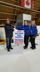 The Storm accept 2nd place Banner