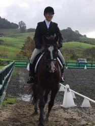 See, dressage is fun!!!