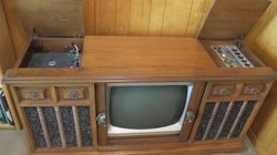1963 Curtis Mathes Console TV,Three in One.