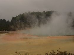 Steaming Champagne Pool