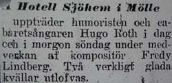 Hotell Sjohem 1917
