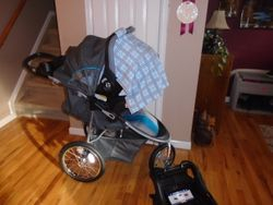 Baby Trend Cityscape Jogger Travel System- Stroller and Car Seat - $110