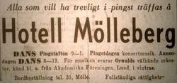 Hotell Molleberg 1946