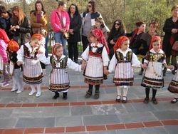 Young Lazaris dance in Kozani, Krokos village