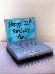 Mac Laptop Cake(SP042)