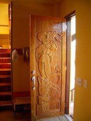 Front door of Casa Corazon