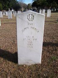 PIERCE, JOHN, Private