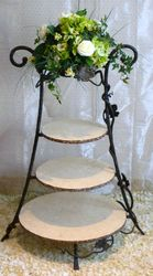 Wrought Iron Cake Stand