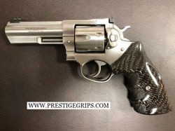 RUGER GP100 Full Wrap Around TRUE TACTICAL blk CF Mounted