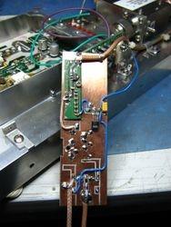 70cm LNA + bandpass filter