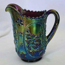 Windmill milk jug, purple
