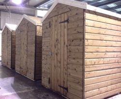 Apex Wooden Garden Sheds