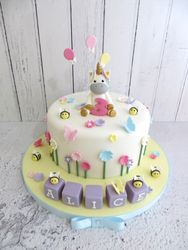 Alice's Unicorn Birthday Cake