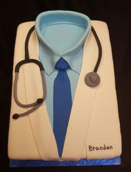 Doctor Coat Cake