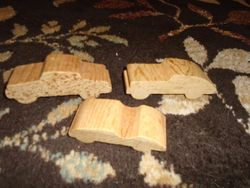 Wooden Cars- 3 - $5